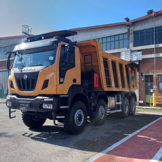 Tipper truck Astra HHD9 86.50 Euro 6 8x6 CE