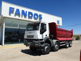 Tipper truck IVECO TRAKKER AD410T45W