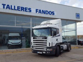 Tractor unit Scania R144-460