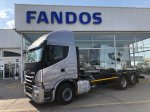 Chasis IVECO AS260S46Y/PS. 6x2 cajas moviles