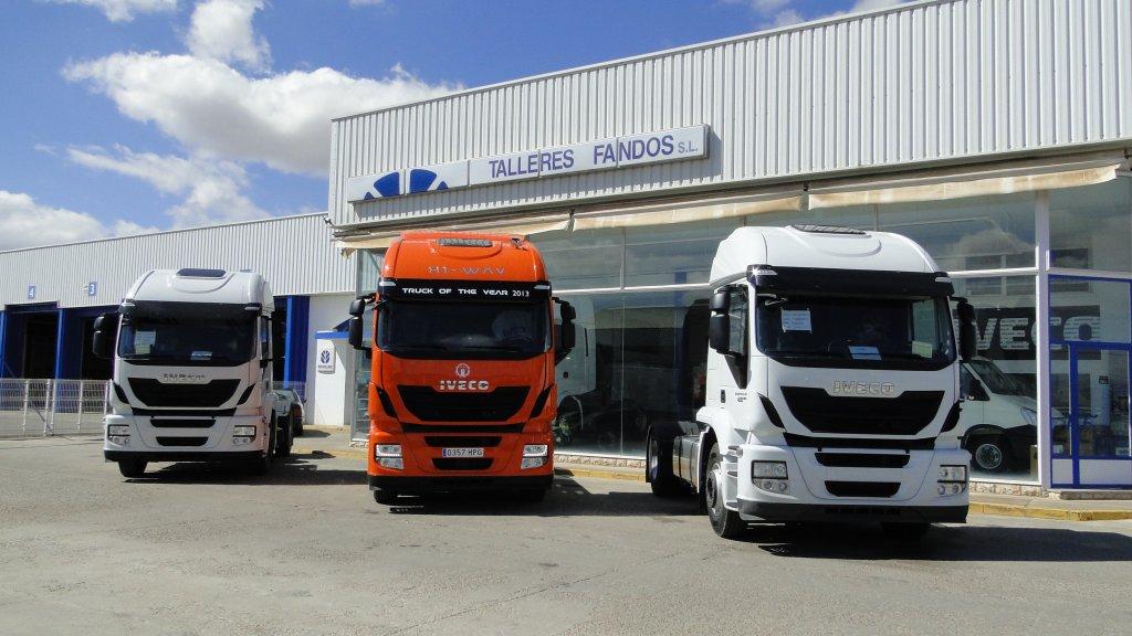Resultado de imagen de vehículos pesados españoles