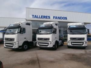 3 Cabezas tractoras Volvo FH13 460CV del año 2011