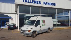 Entrega de furgoneta de ocasión IVECO 35S13V de 12m3, para nuestro amigo Juan de El Prat de Llobregat, Barcelona