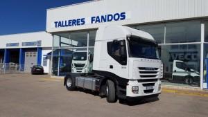 Entrega de cabeza tractora IVECO AS440S50TP para Castellón.