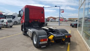 Nueva en el stock tractora de ocasión IVECO AS440S42TP cabina baja.