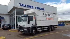 Entrega de camión usado IVECO MH260E35YP basculante, para nuestro amigo Raul del Toro, Castellón.