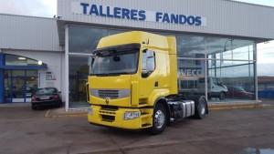 Entrega de cabeza tractora Renault Premium 460 para Valle de Santa Ana, Badajoz.
