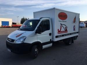 Entrega de furgoneta de ocasión  para Don Jate en Teruel