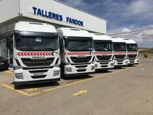 Nueva entrada en el stock,  6 cabezas tractoras de ocasión  IVECO Hi Way