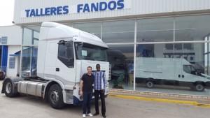 Hoy hacemos entrega de un tractora de ocasión IVECO AS440S45TP a nuestro amigo Mamadou de Senegal. Esperamos que disfrutes de la maquina.