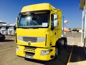 El sábado entregamos una tractora de Ocasión Renault Premium 460 para Córdoba.