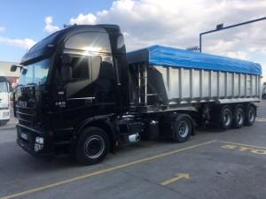 Entrega de tractora de ocasión IVECO para Castellón.