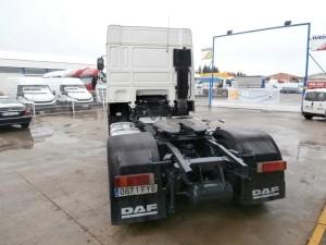 Entrega de cabeza tractora de ocasión DAF XF105.410 Para Jose Miguel de Piedraita, Avila.