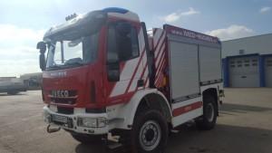 Camión de demostración contra incendios IVECO ML140E30W