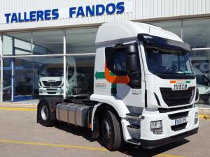 Entrega de cabeza tractora nueva IVECO AT440S46T/P para Alcorisa , Teruel.