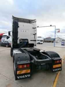 Entrega de cabeza tractora de ocasión, VOLVO FH13 460CV automático para Mora de Rubielos en Teruel.