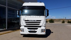 Entrega de 2 tractoras IVECO AS440S46TP automáticas con intarder a Moron de la Frontera, Sevilla.