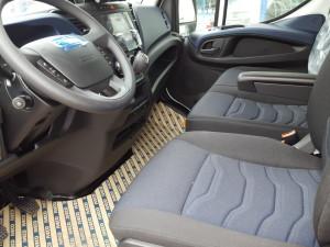 En Talleres Fandos disponemos de una Furgoneta Nueva IVECO 35S14V de 12m3 Euro6 para que puedas probar las mejoras de este vehículo.