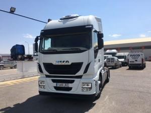 Entrega de cabeza tractora nueva IVECO AS440S48TP para nuestro amigo Pedro de Andorra.