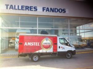 Entrega de furgoneta nueva IVECO 35C15 para nuestros amigos de Amela y Martin.