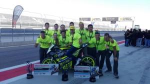 Premio para los turolenses en MotoStudent por su moto eléctrica.