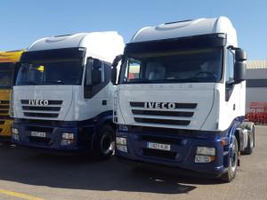 Entrega de 2 cabezas tractoras AS440S50TP para Ciudad Real.