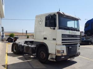 Exportación de tractora de ocasión DAF XF95.380 para Mali.