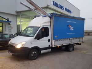 La semana pasada entregamos esta magnifica furgoneta de ocasión IVECO 35C15 del año 2013.
