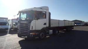 Exportación de cabeza tractora de ocasión Scania R420 que se va para Iraq.