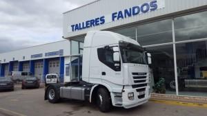 Entrega de cabeza tractora de ocasión IVECO AS440S50TP para Galicia.