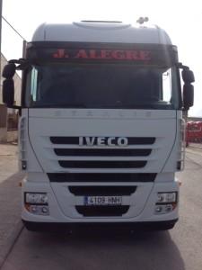 Entrega de tractora de ocasión IVECO AS440S46TP.
