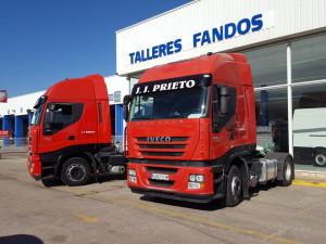 Entrega de 2 cabezas tractoras IVECO AS440S42TP