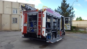 Entrega de una Bomba Urbana Ligera a la Diputación Provincial Teruel.
