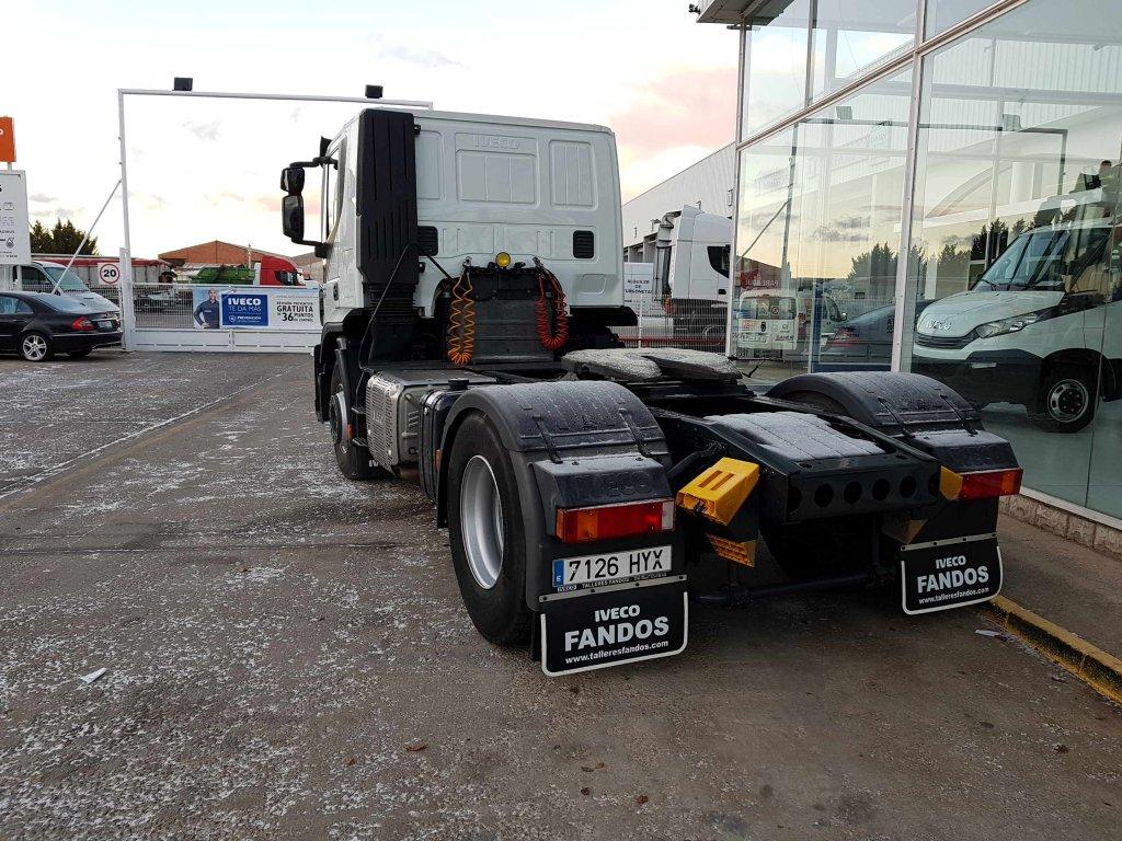 Entrega de tractora de ocasión IVECO AT440S42TP
