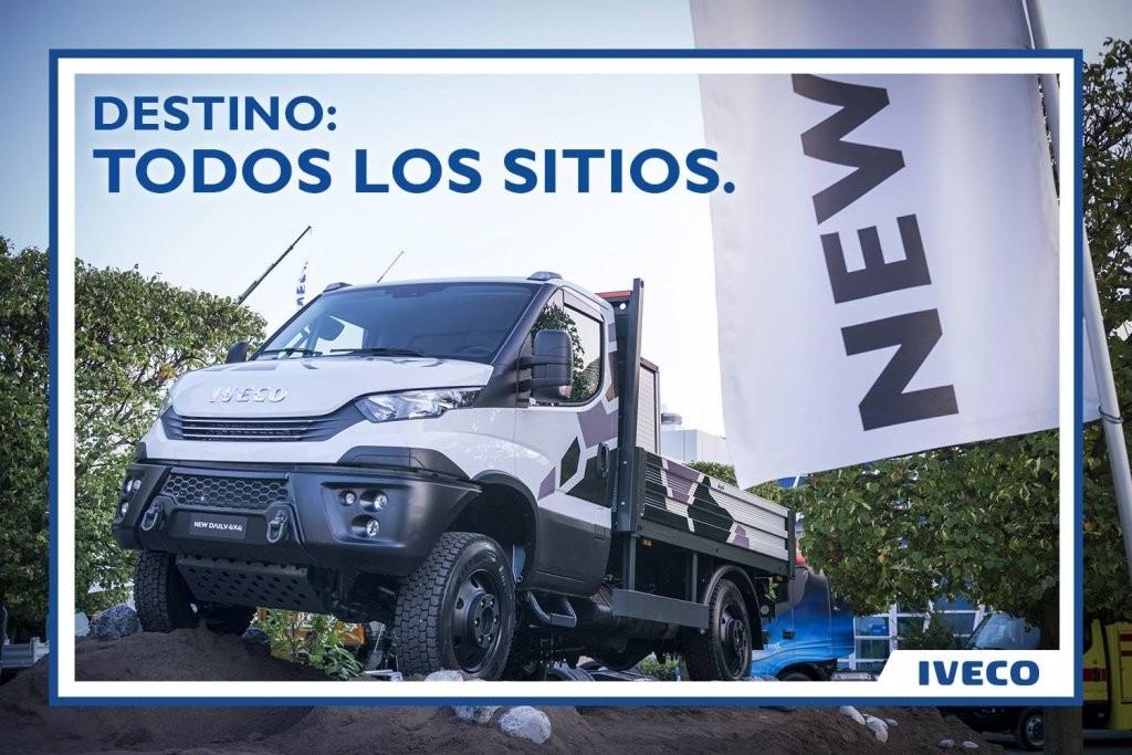 Talleres Fandos nueva IVECO daily 4x4 2019