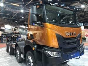 IVECO X-WAY con la nueva cabina.