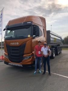 Test camp del IVECO S-WAY en Turin.