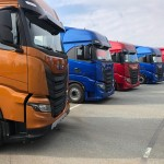 Test camp del IVECO S-WAY en Turin.