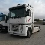 Entrega de tractora de ocasión Renault Magnum para Dakar, Senegal.