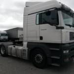 Entrega de cabeza tractora MAN para Rumanía.