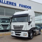 Entrega de tractora IVECO AS440S50TP  para Zaragoza.
