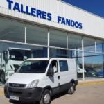 Entrega de furgoneta de ocasión IVECO Daily Family para Barcelona.