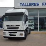 Entrega de tractora de ocasión IVECO para Alcoy, Alicante.