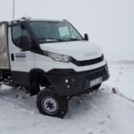 Entrega de furgoneta nueva  IVECO 35S17W 4×4