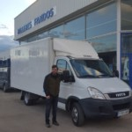 Entrega de furgoneta para Viveros Joven SL de Alcañiz, Teruel.