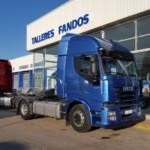 Entrega de cabeza tractora de ocasión IVECO para Lugo.