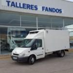 Entrega de una furgoneta  Ford Transit para Salamanca.