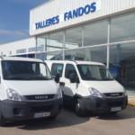 Entrega de dos furgones IVECO Family para Sevilla.