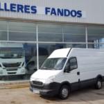 Entrega de furgón en la Mata de los Olmos, Teruel.  IVECO 35S13V.