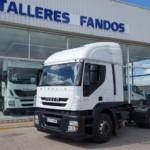 Entrega de tractora de ocasión IVECO AT440S46TP para Benicassim, Castellón.